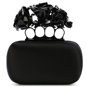 0a221ff01156c Alexander McQueen Knuckle Box Clutch | The Select Store
