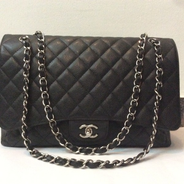 d902b534930f Chanel Classic Maxi Flap Bag – SHW | The Select Store